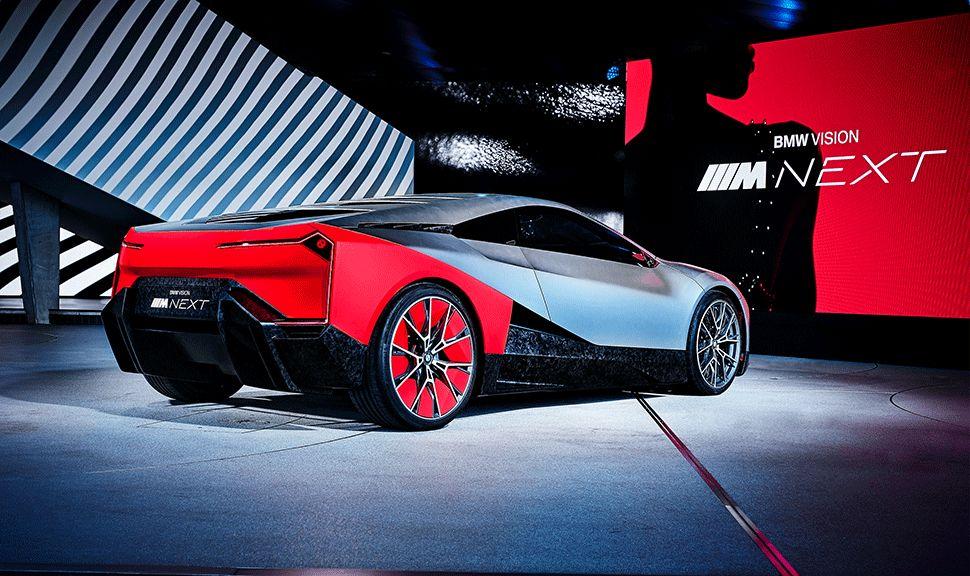 Heck des BMW Vision M Next