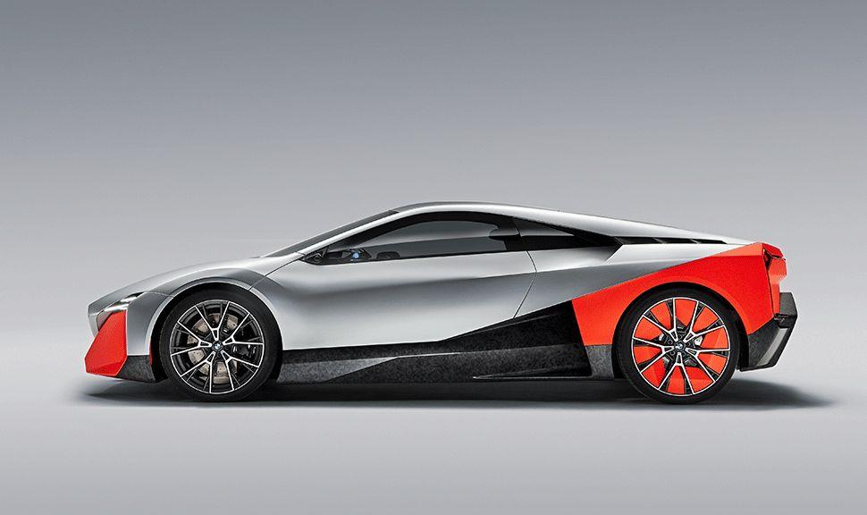 BMW Vision M Next Seitenansicht