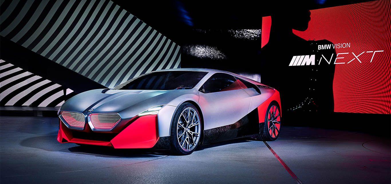 BMW Vision M Next von schräg links vorne