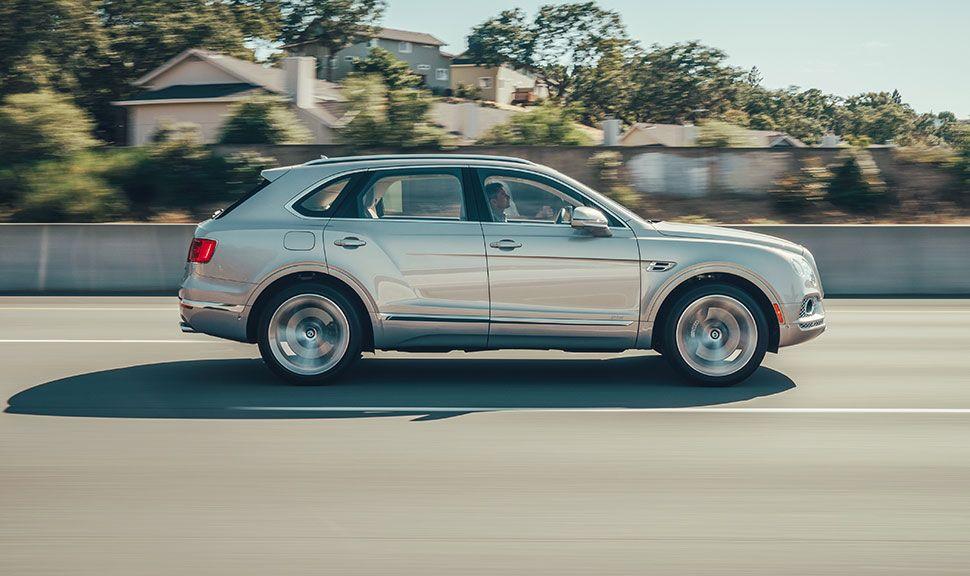 Bentley Continental GT Seitenansicht rechts