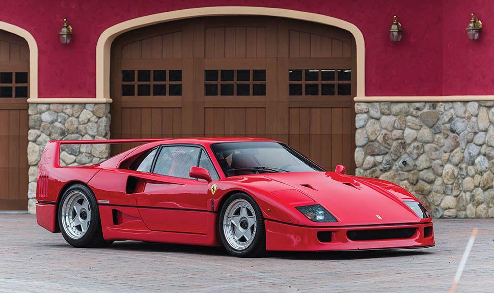 Ferrari F40 von schräg rechts vorne