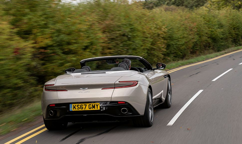 Aston Martin DB11 Volante Heck