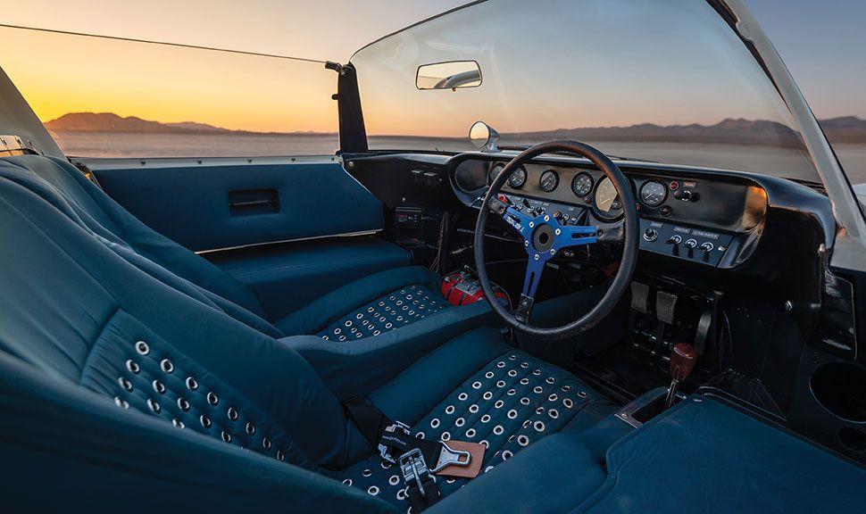 Ford GT40 Innenraum
