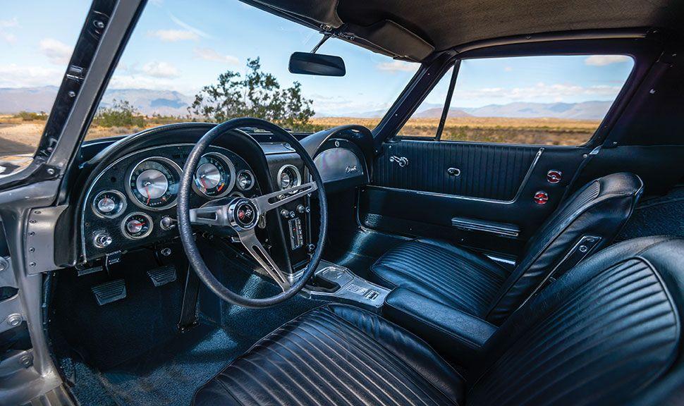 Chevrolet Corvette C2 Innenraum