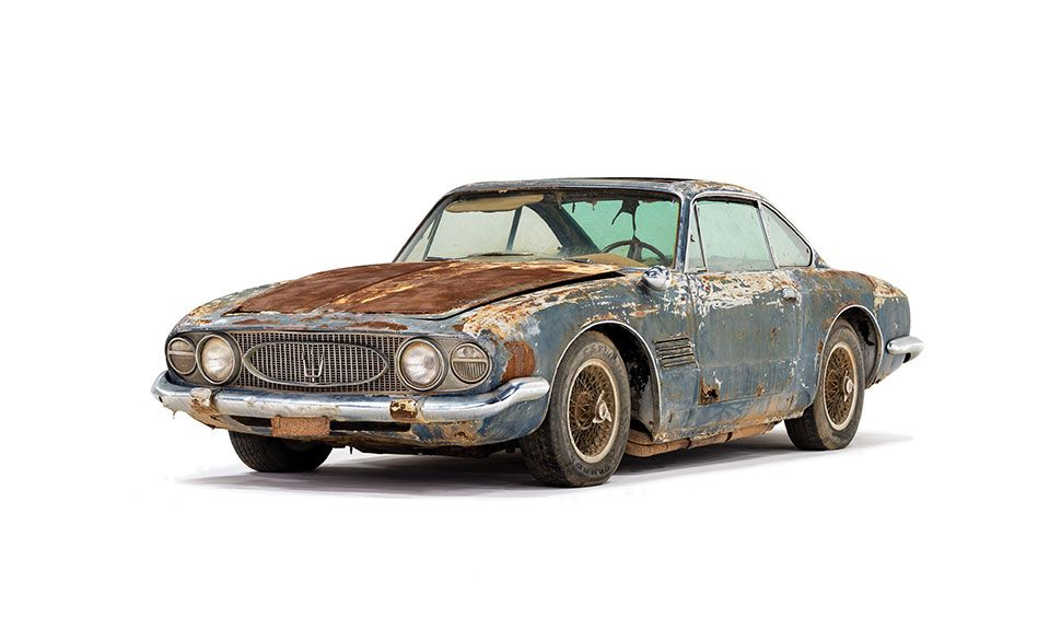 Maserati 5000 GT Ruine