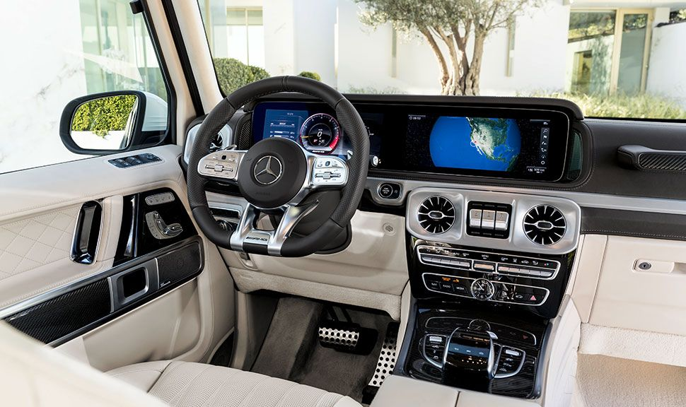 Mercedes G-Klasse Innenraum