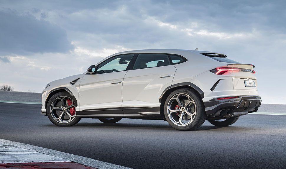 Lamborghini Urus Seitenansicht links