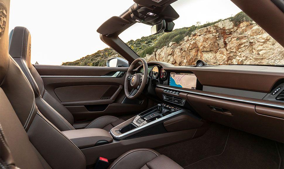 Porsche 911 Carrera S Cabrio Innenraum