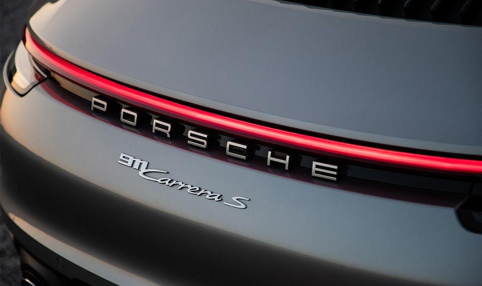 Porsche 911 Carrera S Cabrio Heck Detailansicht