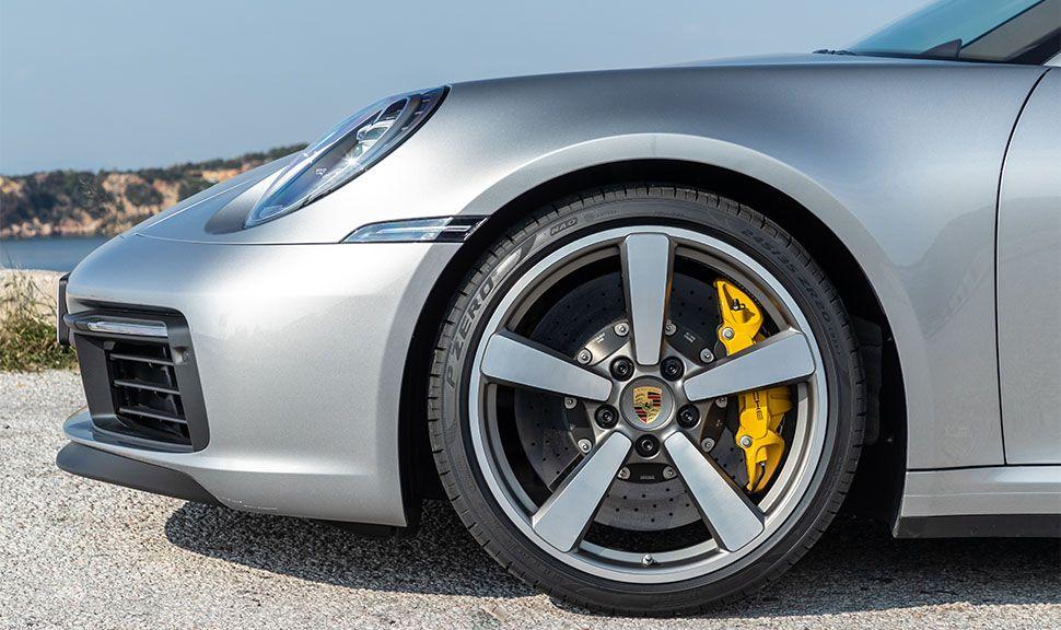 Porsche 911 Carrera S Cabrio Vorderrad