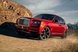 Rolls-Royce Cullinan offroad