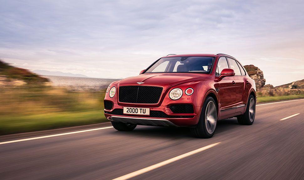 Fahreindrücke des Bentley Bentayga