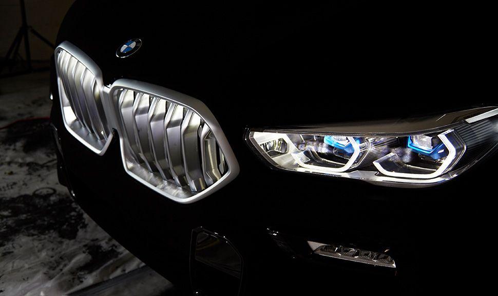 BMW VB X6 Detailaufnahme Front