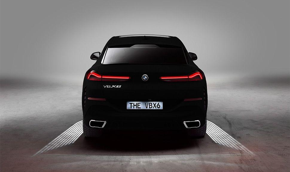 BMW VB X6 Heckansicht