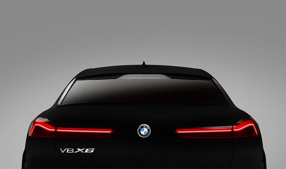 BMW VB X6 Heckdetailansicht