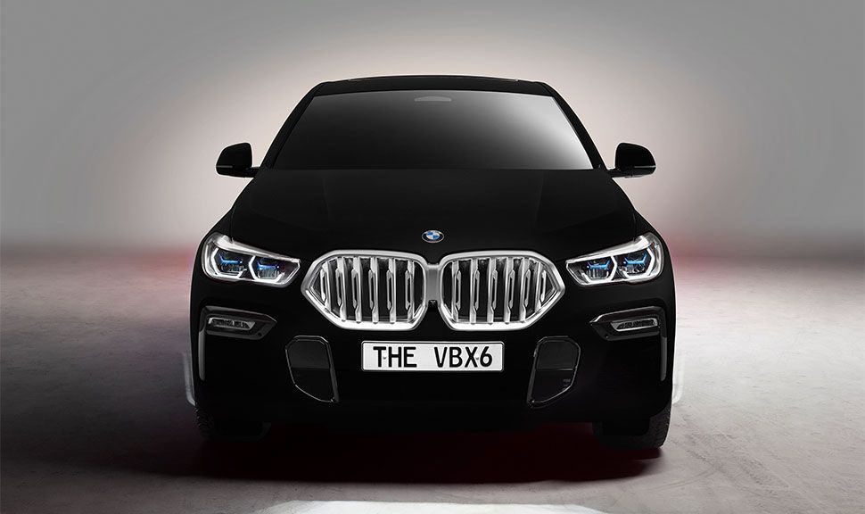 BMW VB X6 frontal