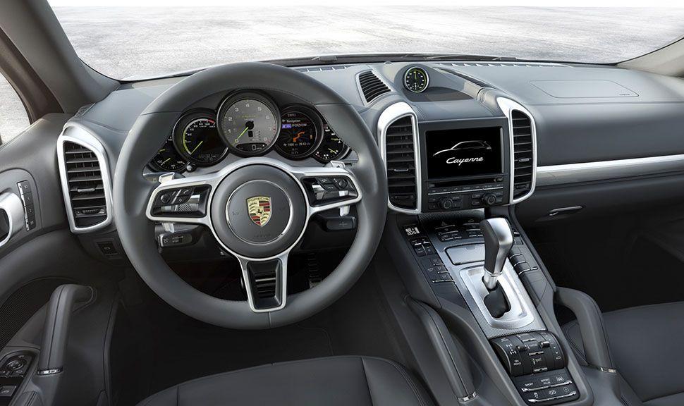 Porsche Cayenne Innenraum