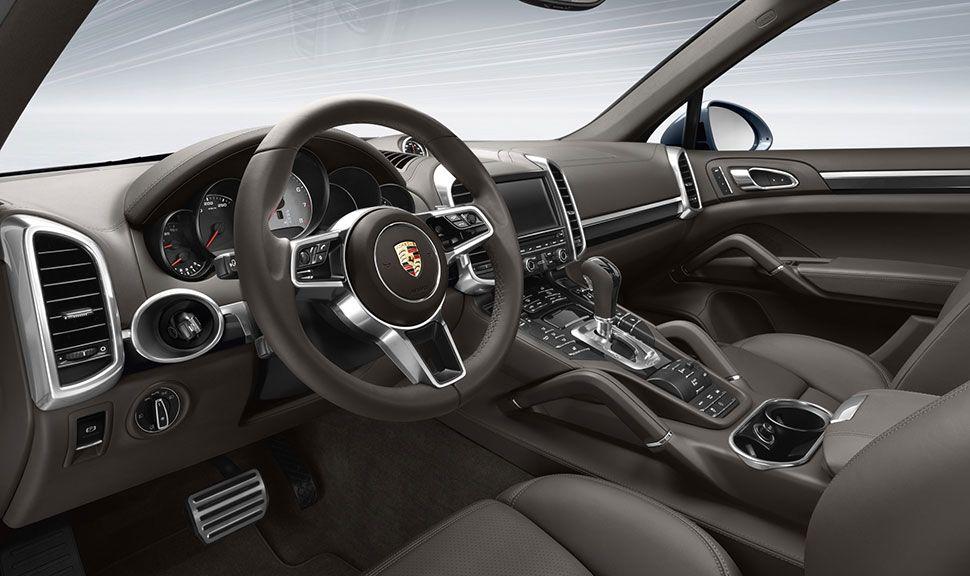Innenraum des Porsche Cayenne