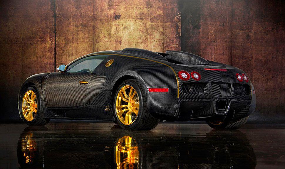 Heck und Seite des Bugatti Veyron