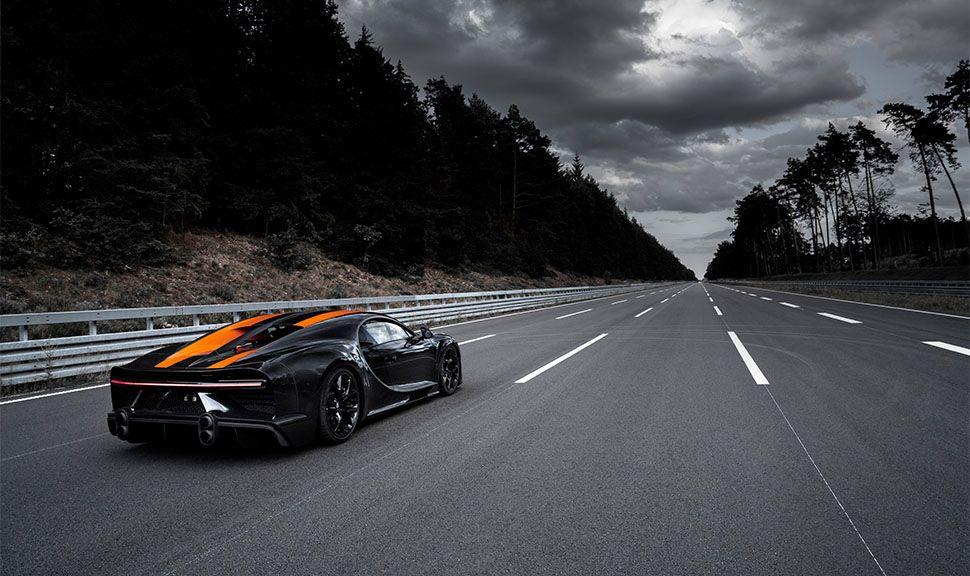 Bugatti Chiron Super Sport 300+ von schräg rechts hinten