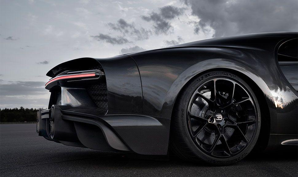Bugatti Chiron Super Sport 300+ Ausschnitt Longtail