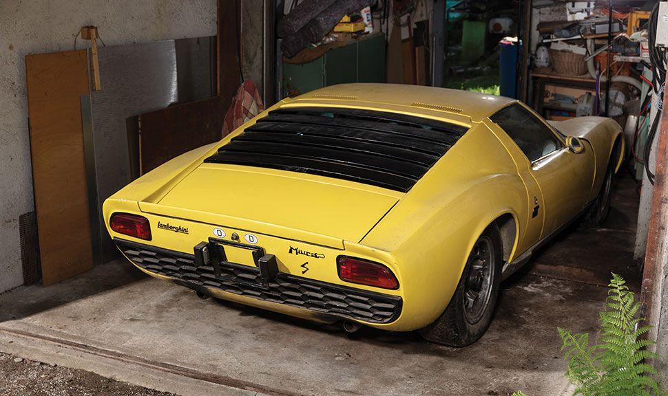 Lamborghini Miura Heck