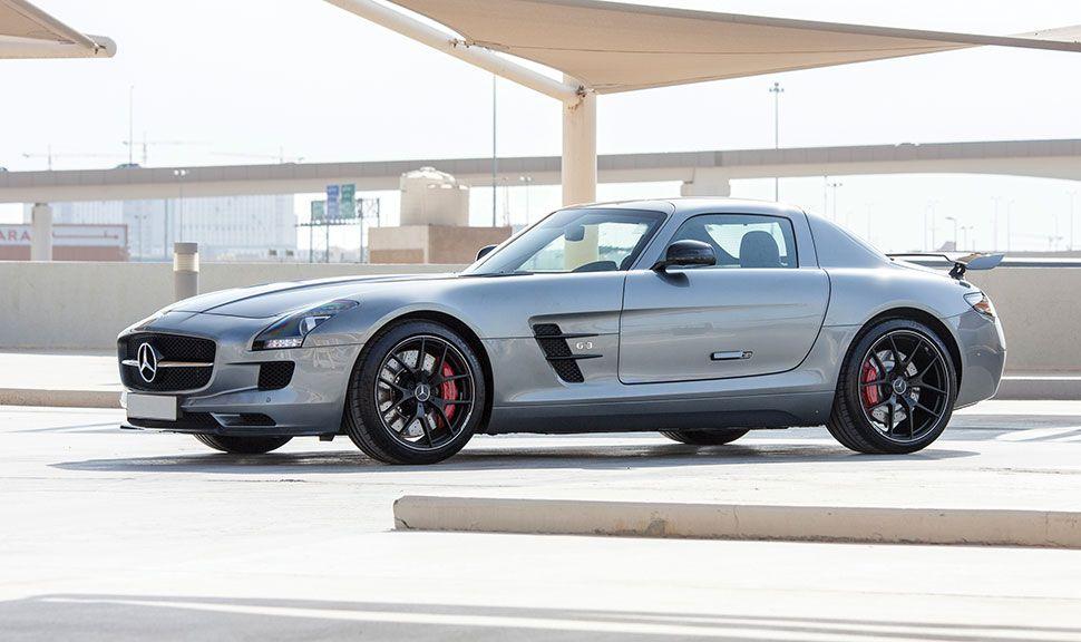 Mercedes SLS Seitenansicht