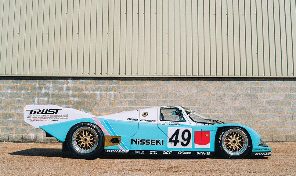 Porsche 962 C Seitenansicht