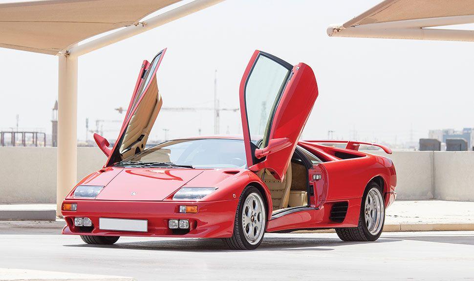 Lamborghini Diablo VT Front und Seite
