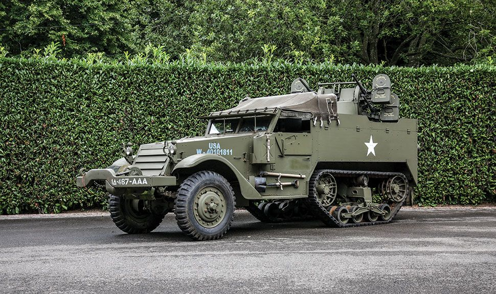 White M16 Front und Seite