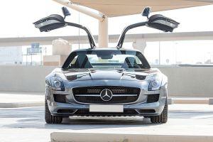 Mercedes SLS AMG Front
