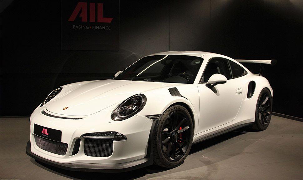 Porsche 911 991 GT3 RS in Weiß-Schwarz