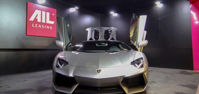 Lamborghini Aventador in AIL Traumgarage