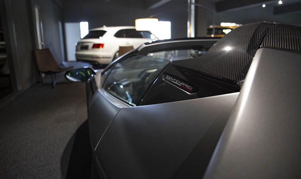 Lamborghini Centenario Detailaufnahme