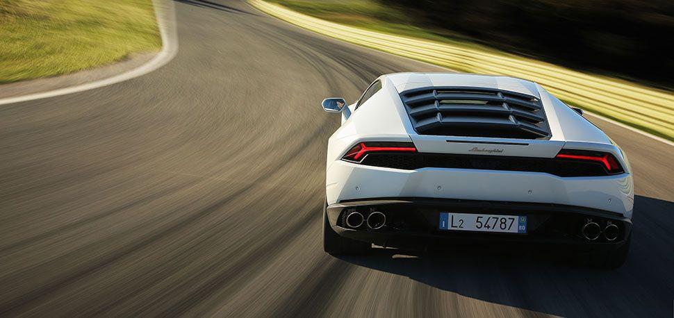 Lamborghini Gallardo Heck