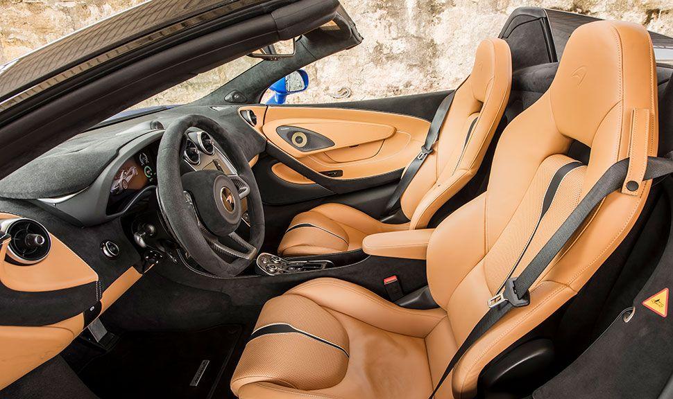 McLaren 570S Innenraum