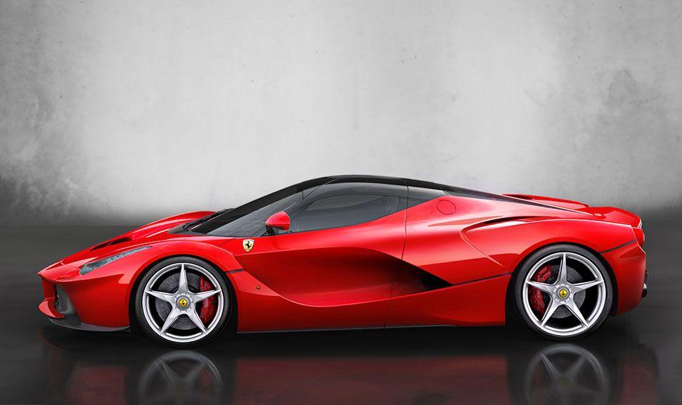 Ferrari LaFerrari Seitenansicht