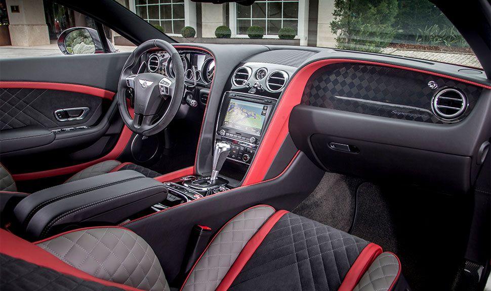 Bentley Continental GT Supersports Innenraum