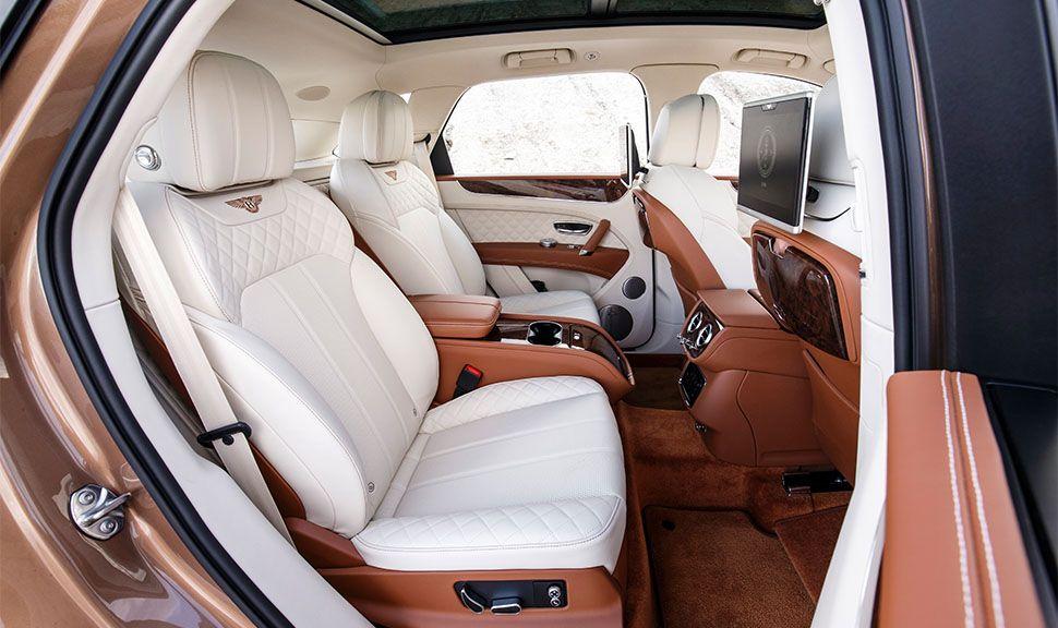 Bentley Bentayga Rückbank