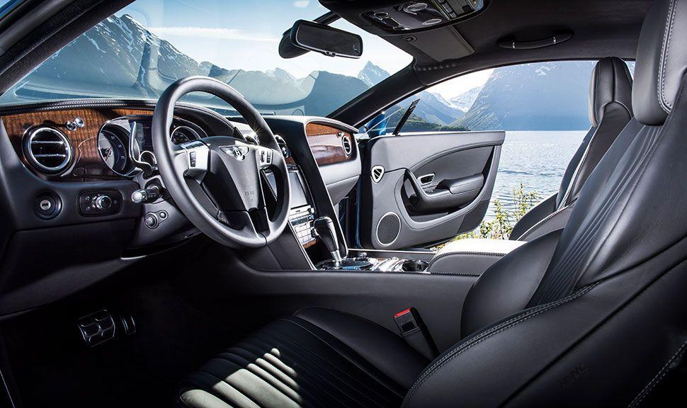 Bentley Continental Innenraum