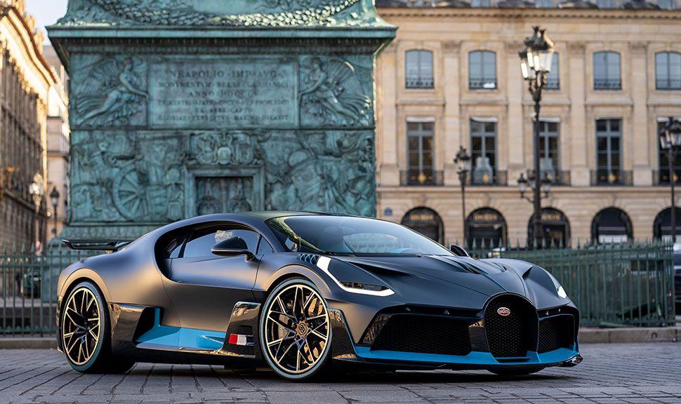 Bugatti Divo Front und Seite