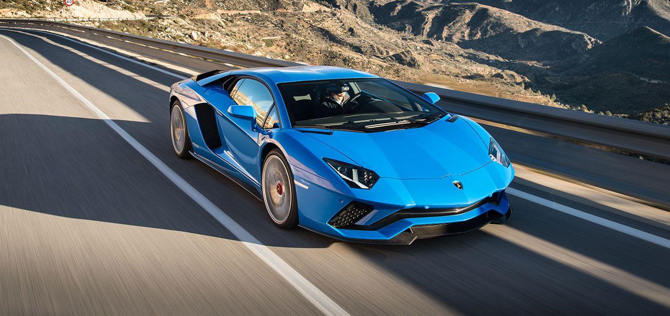 Lamborghini Aventador Fahrtbild