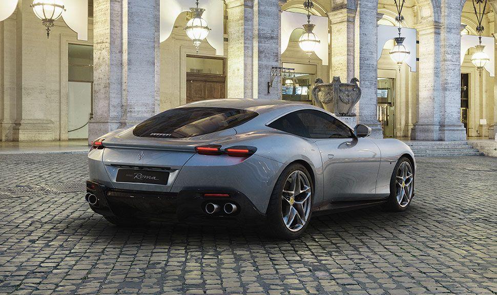 Ferrari Roma Heck
