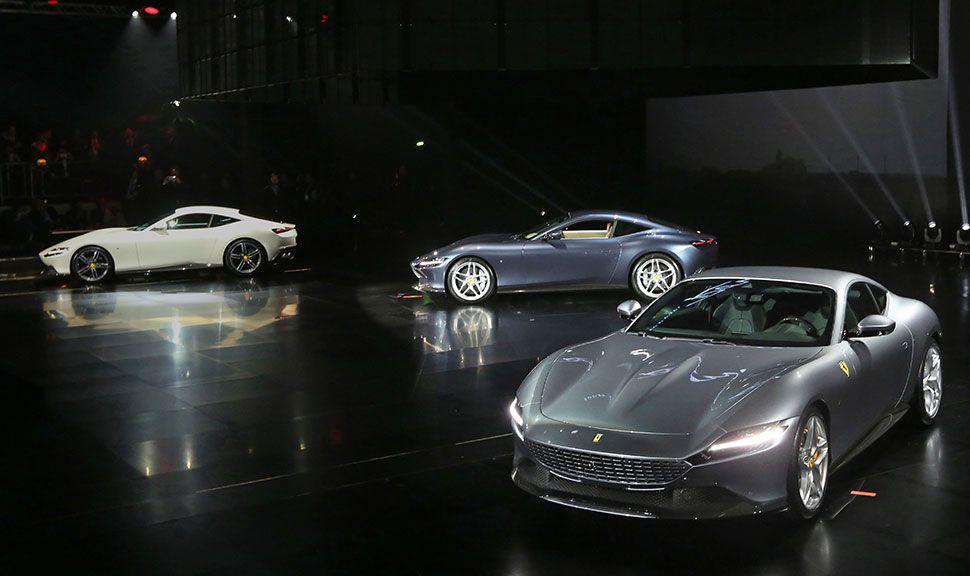Ferrari Roma Premiere in Rom