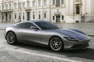 Ferrari Roma Front und Seite