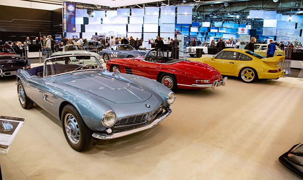 BMW 507, Mercedes-Benz 300 SL Roadster, Porsche 911 GT2