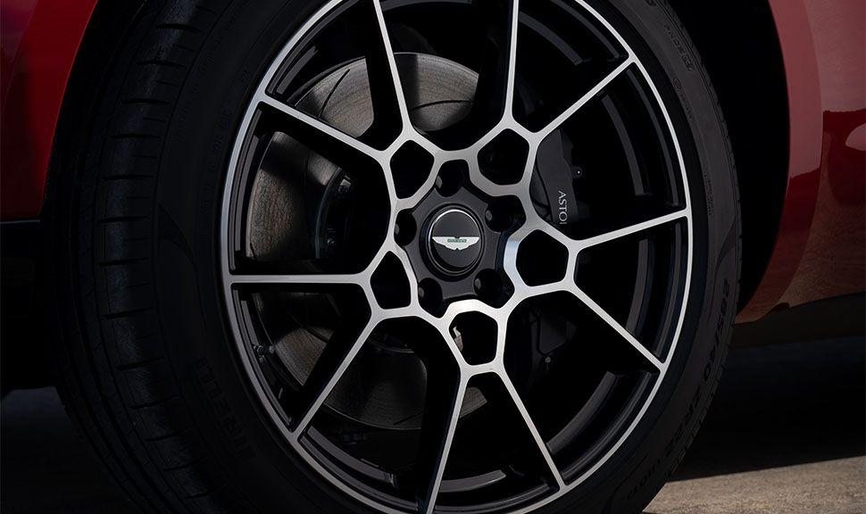 Felge des Aston Martin DBX