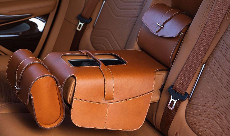 Aston Martin DBX Innenraum