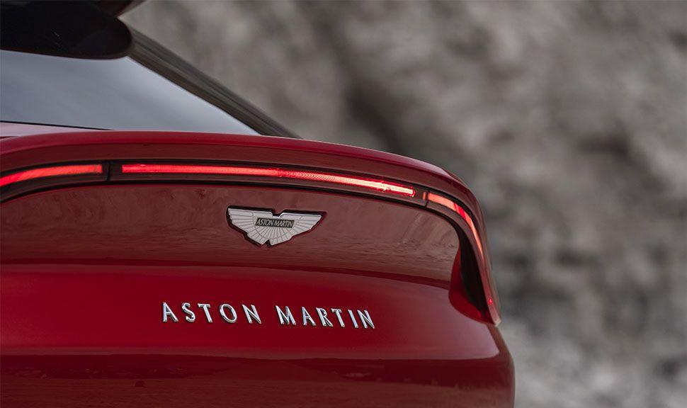 Aston Martin DBX Heckdetail