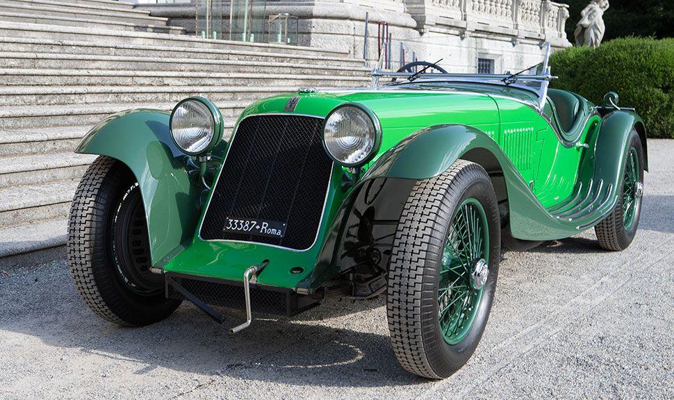 Maserati Tipo Front und Seite